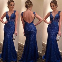 Fashion Prom Dress Ladies Sexy Sleeveless Backless Maxi Dress Formal Evening Party Date Cocktail Ball Gown Dress Bridesmaid Dress = 5841922881