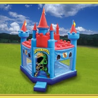 Inflatable Knight Bounce House Jumping Castle Playbed Moonwalk Bouncy Party clsb