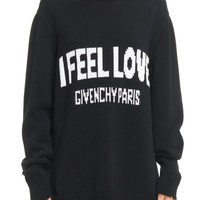 Givenchy I Feel Love Cotton Sweater   Nordstrom