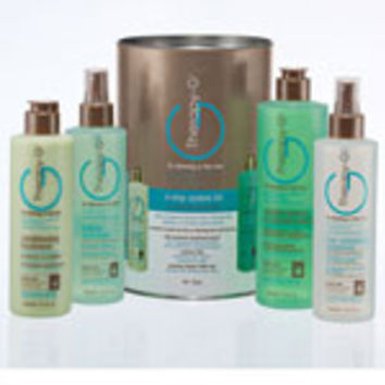 Therapy-G 4 Step System Kit for Chemically Treated Hair, 90