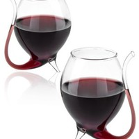 Wino Sippers: Wine glasses with built in sipping straws