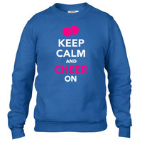 Keep calm and Cheer on 1 Crewneck sweatshirt