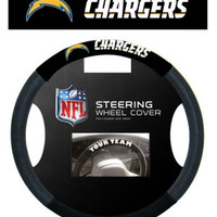 San Diego Chargers Steering Wheel Cover - Mesh