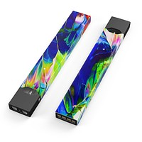 Blurred Abstract Flow V6 - Premium Decal Protective Skin-Wrap Sticker compatible with the Juul Labs vaping device