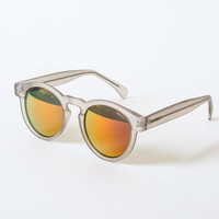 Clement Frost Red Mirror Sunglasses