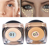 Maquiagem Famous Band Women Face Makeup Bronzer & Highlighter Powder Trimming Make Up Cosmetic Brighten Face Concealer Cream