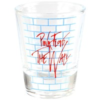 Pink Floyd - Wall Graffiti Shot Glass