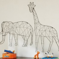 Wire Animal Decor
