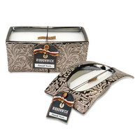 RibbonWick™ Damask Woods Scented Candles