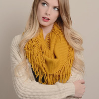 Ribbed Infinity Scarf - Multiple Options