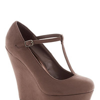 Take It from the Taupe Wedge
