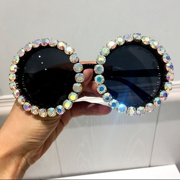 Round Bling Sunglasses