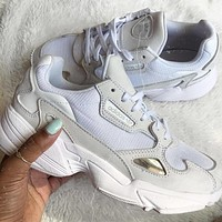 ADIDAS FALCON men and women Retro Old running shoes-5