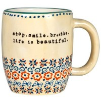 Stop Smile Breathe Mug
