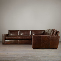 Maxwell Leather Corner Sectional