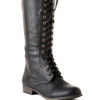 JACEY TALL COMBAT BOOT