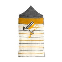 Knit Baby Sleeping Bag - Yellow