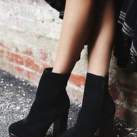 Jeffrey Campbell + Free People Womens Skyline Platform Ankle Boots