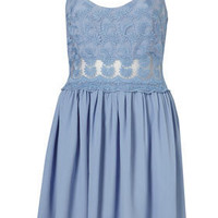 Lace Strappy Sundress - Dresses - Clothing - Topshop