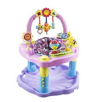 Exersaucer Double Fun - Pink Bumbly