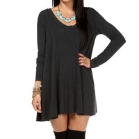 Sale-charcoal Relax Tunic
