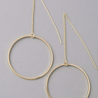 On The Hook Circle Earring 27103P