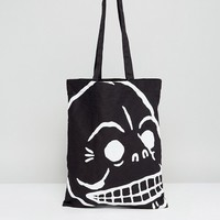 Cheap Monday Skull Print Tote Bag at asos.com
