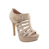 Womens SHI by Journeys Stand Heel, Nude, at shi by Journeys