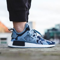 2017 Adidas NMD XR1 Duck Camo / Blue - BA7754 Running Sport Shoes Camouflage Sneakers Casual Shoes