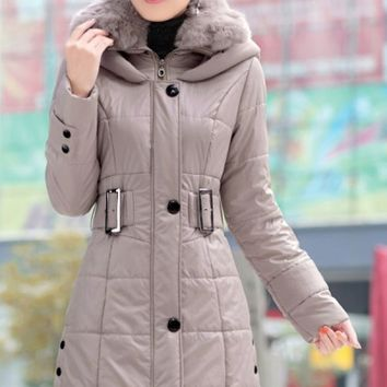 Winter Must-have Belted Coat - OASAP.com