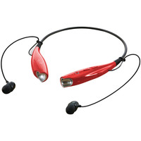 Ilive Bluetooth Neckband And Earbuds (red)