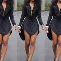 Women Summer Dress Style Womens Sexy Bodycon Dresses Night Club Dress Long Sleeve Women Casual Dress?