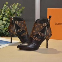 DCCK LV   Women Casual Shoes Boots  fashionable casual leather