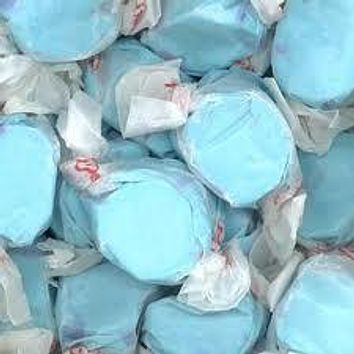 Blueberry Salt Water Taffy 1/2 lb Bulk