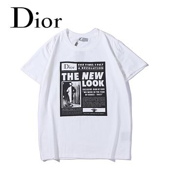 DIOR Woman Men Fashion Tunic Shirt Top Blouse