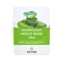 RE:CIPE Slowganic Sheet Mask (Aloe) ]EXP 08.18.2018]
