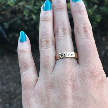 Mother of Dragons Ring - Ready to Ship - Size 9.5