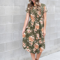 Smell the Roses Dress