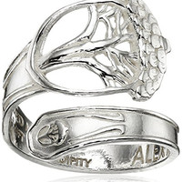 Alex and Ani Spoon Unexpected Miracles Stackable Ring, Size 7-9