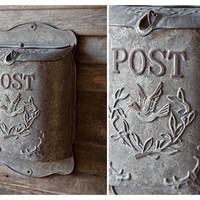 Mail Boxes | Tin Mail Box | Vintage Mail Box