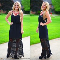 Simple Elegance Maxi Dress