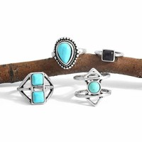 Sky Spirit Ring Set