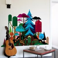 Blik Wall Decal - Imaginary Forest
