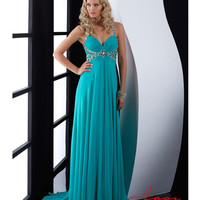 Jasz Couture 2014 Prom Dresses - Jade Ruched Beaded Prom Gown