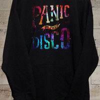Panic At The Discto Galaxy black hoodie
