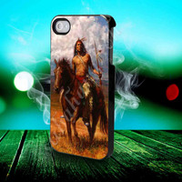 Native American - for iPhone 4/4s, iPhone 5/5S/5C, Samsung S3 i9300, Samsung S4 i9500 Hard Case