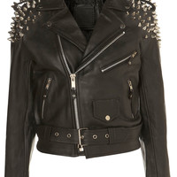 **Harley Biker Jacket by The Ragged Priest - Jackets & Coats - Clothing - Topshop
