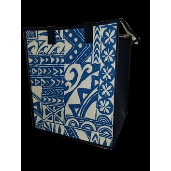 Insulated Lunch Bag Large - Moemoea Blue