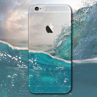 Sea Wave iPhone 5 5S iPhone 6 6S Plus Case Gift-124