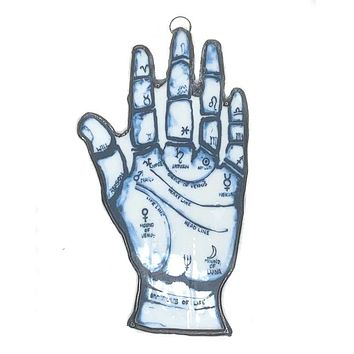 Palmistry Stained Glass